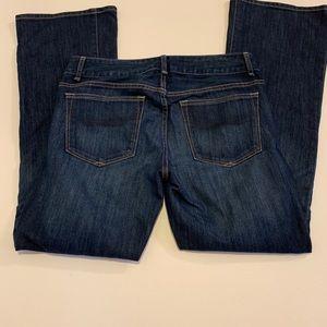 GAP 1969 Perfect Boot Stretch Blue Denim Jeans